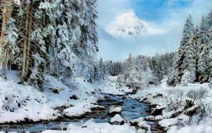 Winter Vista by montag451