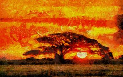 Savannah Sundown by montag451