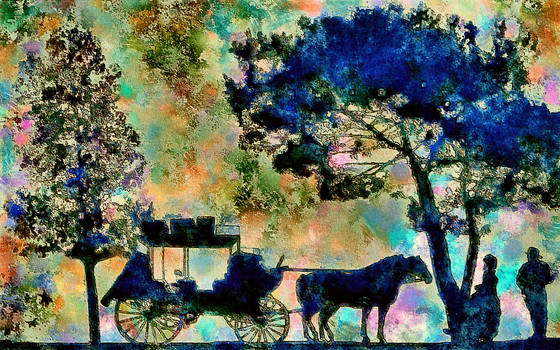 Carriage For Two by montag451