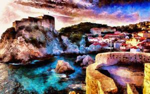 Dubrovnic, Croatia Dreamscape by montag451