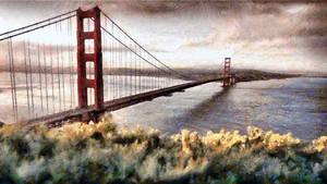The Golden Gate Bridge by montag451