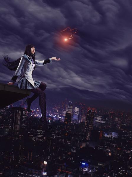 Cosplay-Homura Akemi -03 by mirage-19