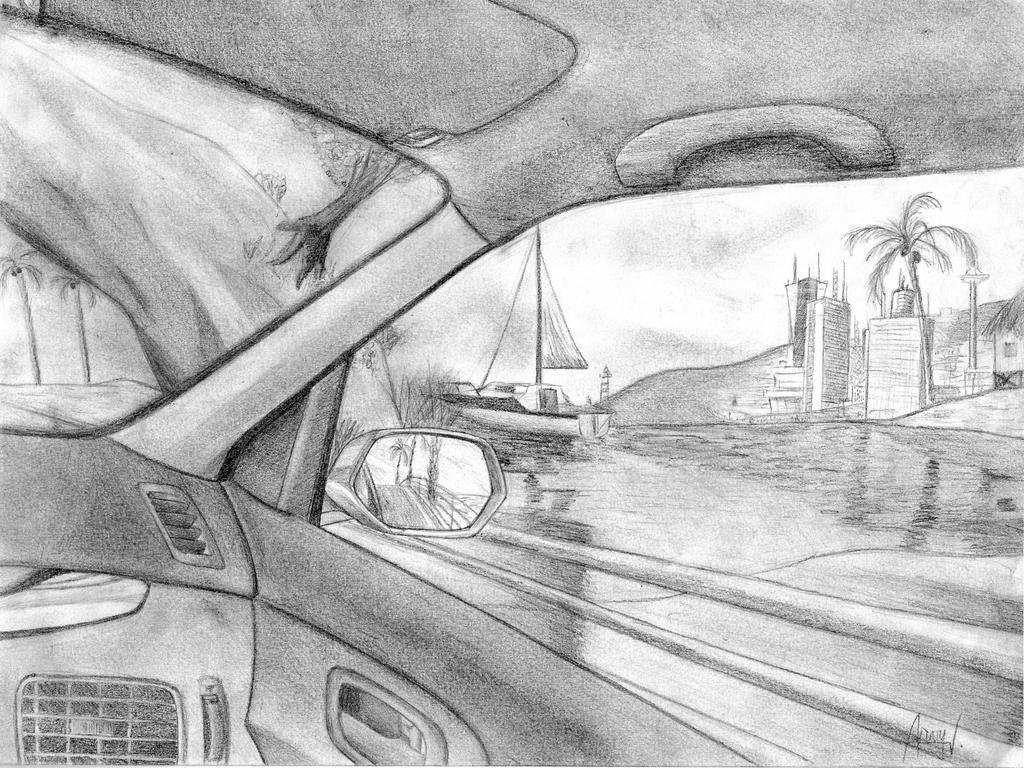 View Through Car Window By ArvydasV On DeviantArt