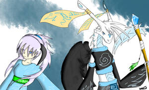 Bakugan OCs: Kasumi and Kalia