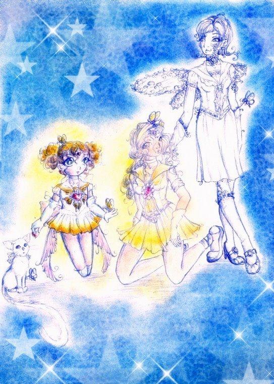 Sailor Sunlight and ? by sunnight1