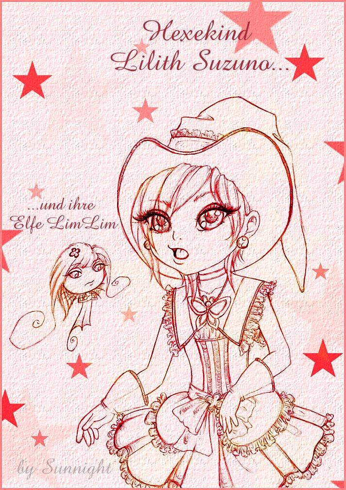 Lilith Suzuno and Elfe LimLim by sunnight1