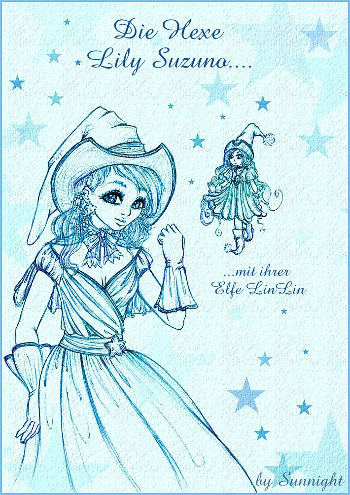 Lily Suzuno and Elfe LinLin by sunnight1