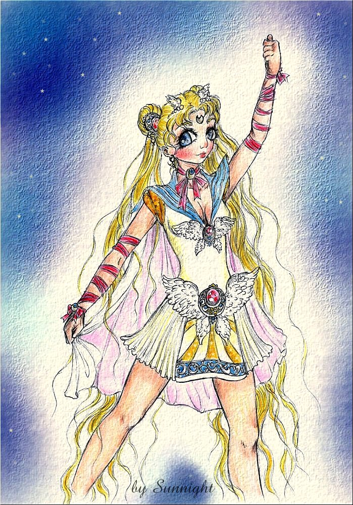 Sailor Moon by sunnight1