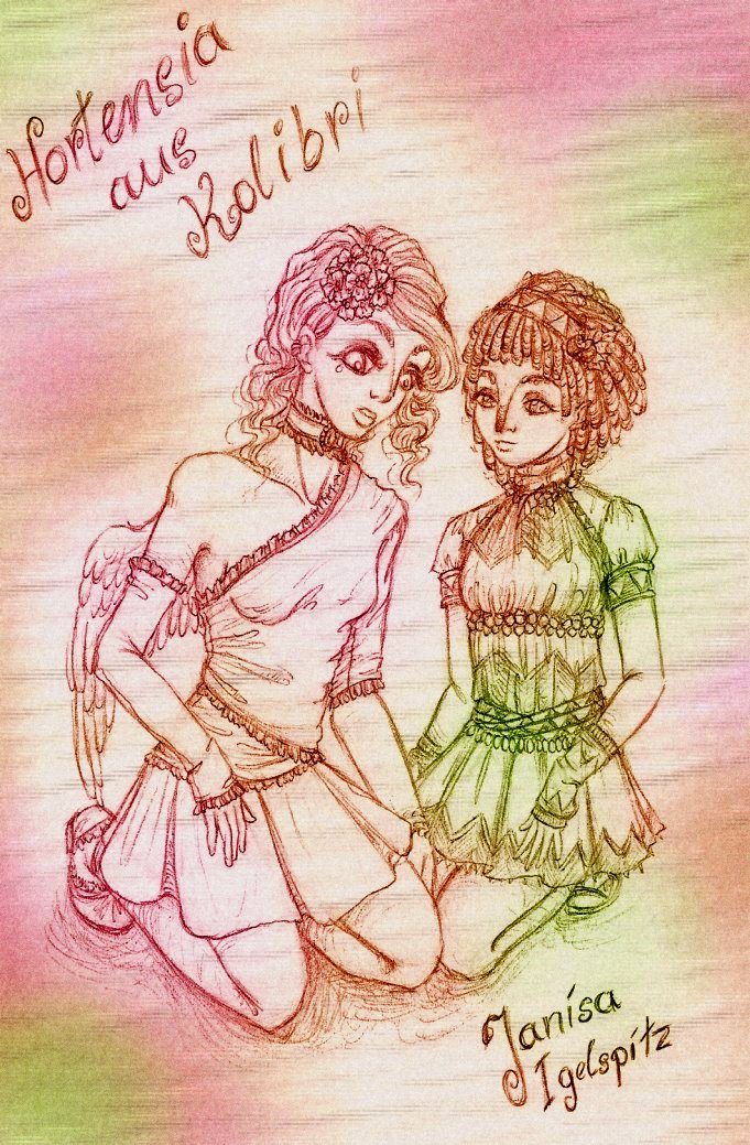 Hortensia and Janisa by sunnight1