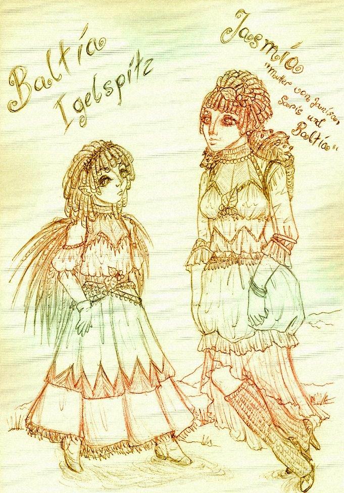 Baltia and Jasmina by sunnight1