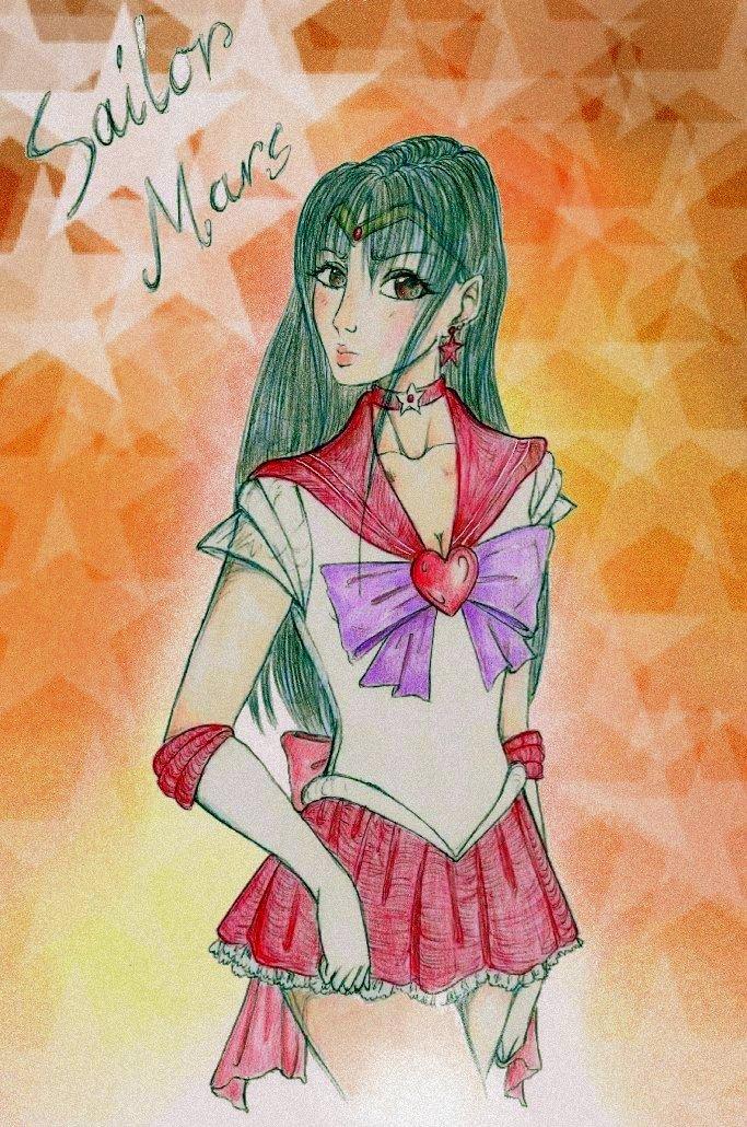 Sailor Mars by sunnight1