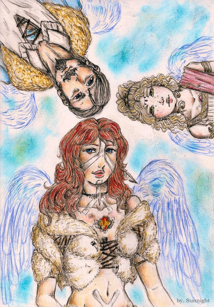 Angelus corde Wings by sunnight1