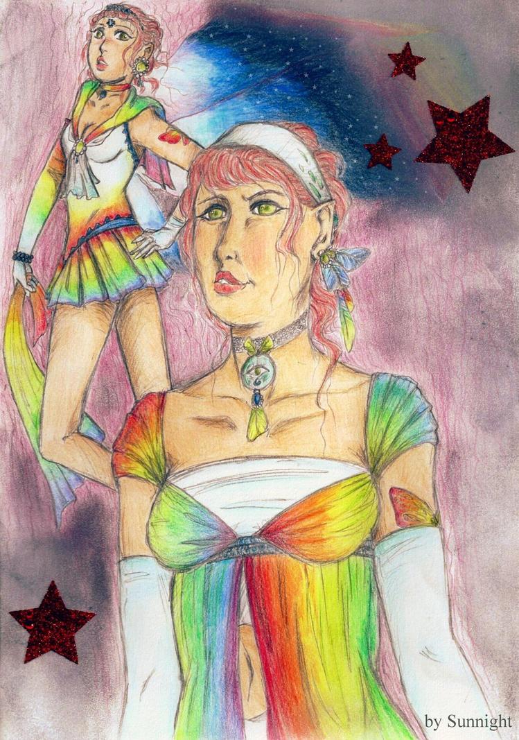 Lily Rain als Sailor Rainbow by sunnight1