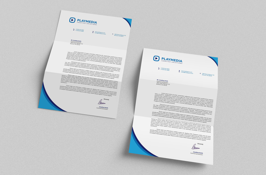 Corporate Letterhead Vol By Nazdrag On Deviantart