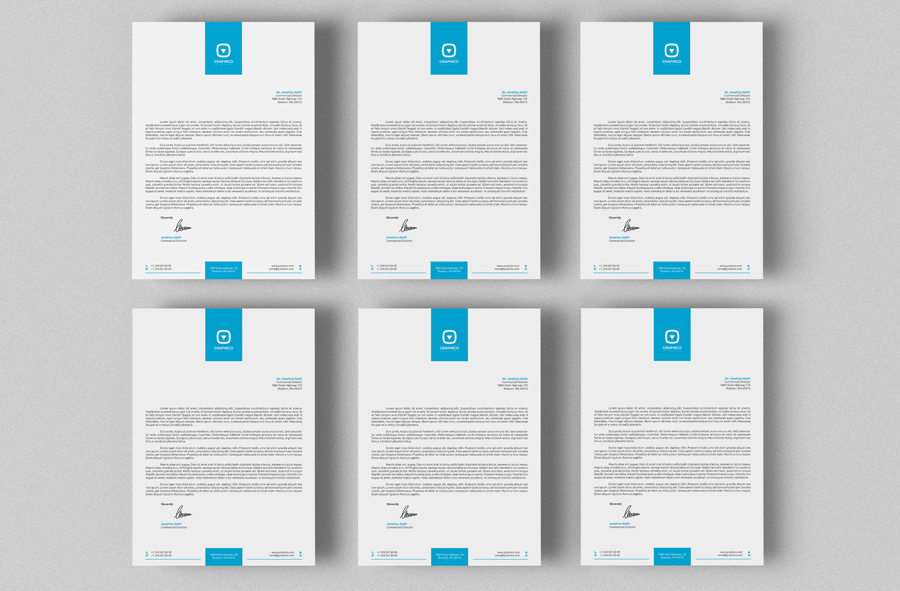 Corporate Letterhead Vol With Ms Word By Nazdrag On Deviantart