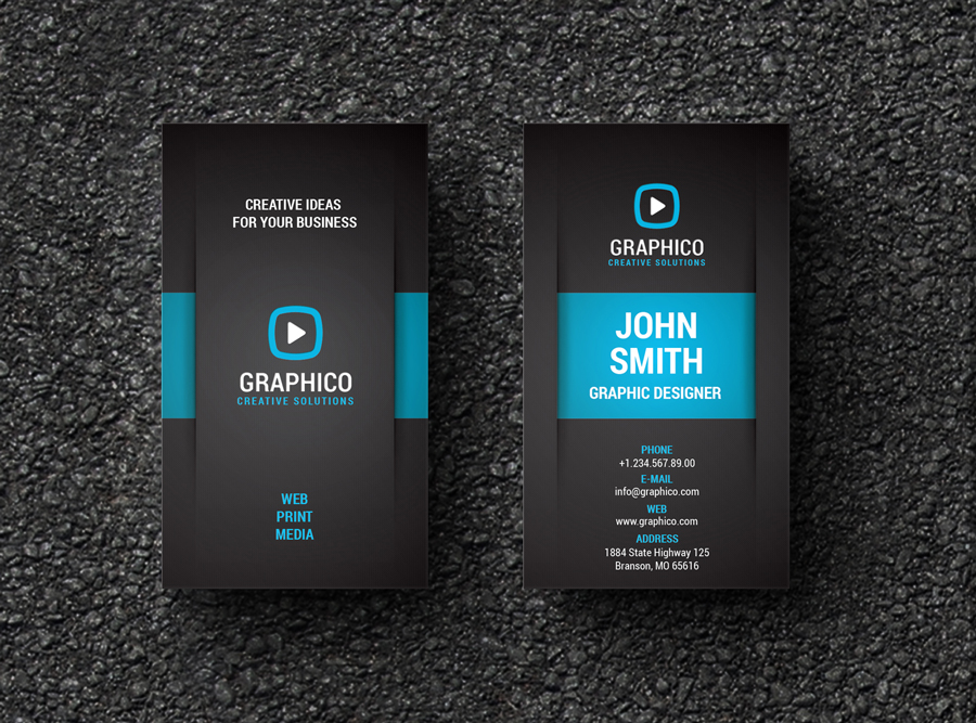Creative Corporate Business Card by nazdrag on DeviantArt