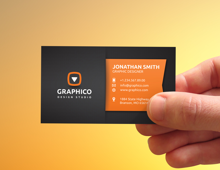 Stylish Corporate Business Card by nazdrag on DeviantArt