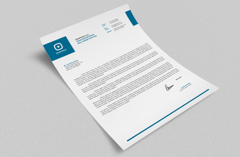 Corporate Letterhead Vol With Ms Word DocDocx By Nazdrag On