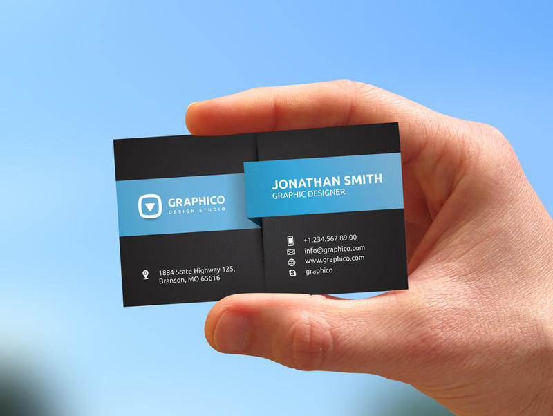 Modern corporate business card by nazdrag on deviantart modern corporate business card by nazdrag colourmoves