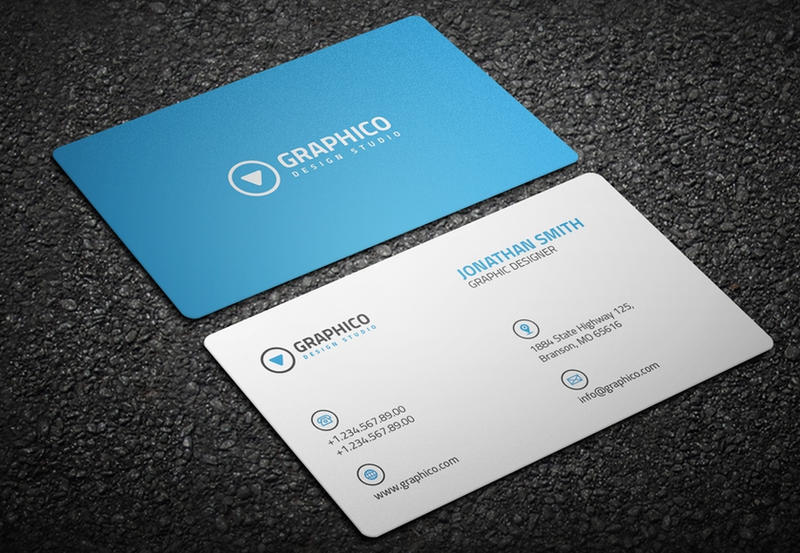 Clean corporate business card by nazdrag on deviantart clean corporate business card by nazdrag reheart Choice Image