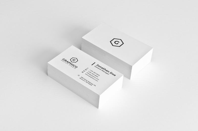 simple corporate business card by nazdrag - Simple Business Card
