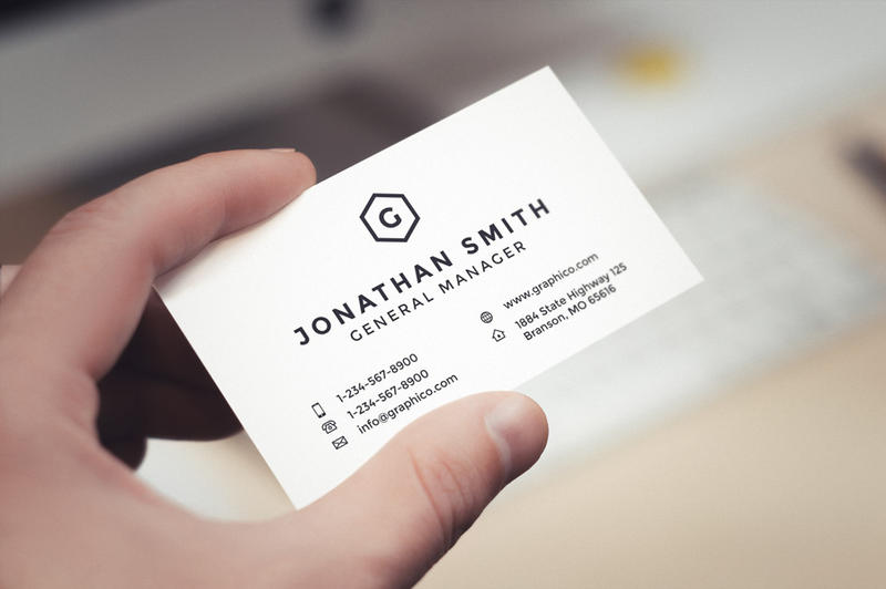 Simple corporate business card by nazdrag on deviantart simple corporate business card by nazdrag colourmoves