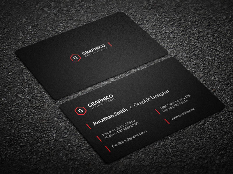 Simple Clean Business Card - 57 by nazdrag on DeviantArt