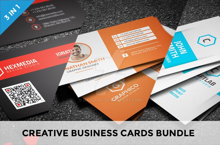 Creative business cards bundle by nazdrag on deviantart creative business cards bundle by nazdrag reheart Images