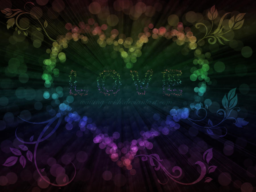 lights wallpaper. .: Love Lights Wallpaper :. by