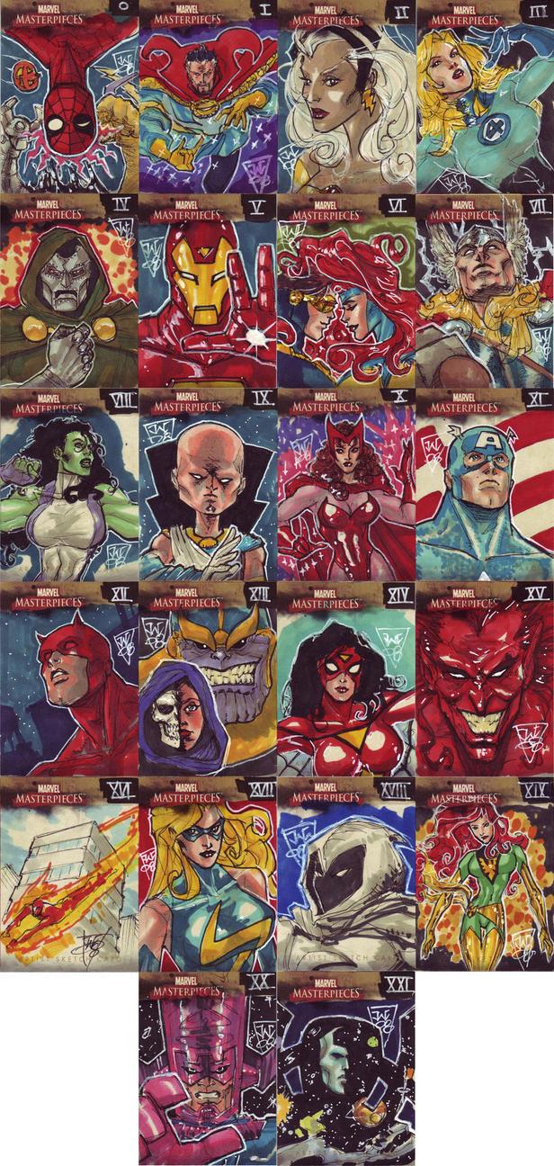 Tarot Superheroes Villains Other Comic Book Characters: Tarot: Marvel Universe By Watkinschow On DeviantArt