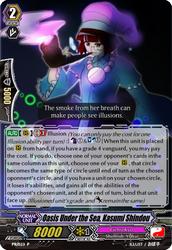 Cardfight!! Vanguard G: Kasumi Shindou by BleachBummer