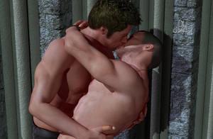 Valentines - Kiss by JoelPhilArt
