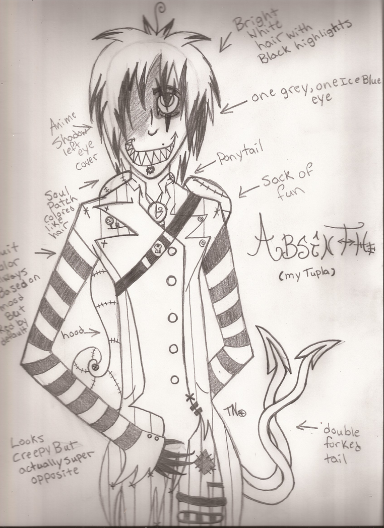 My Tulpa, Absinthe ( info below) by Dysfunctional-H0rr0r