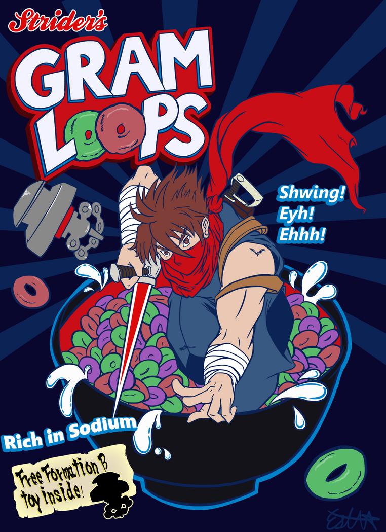 Gram Loops Cereal by MisoKrattz