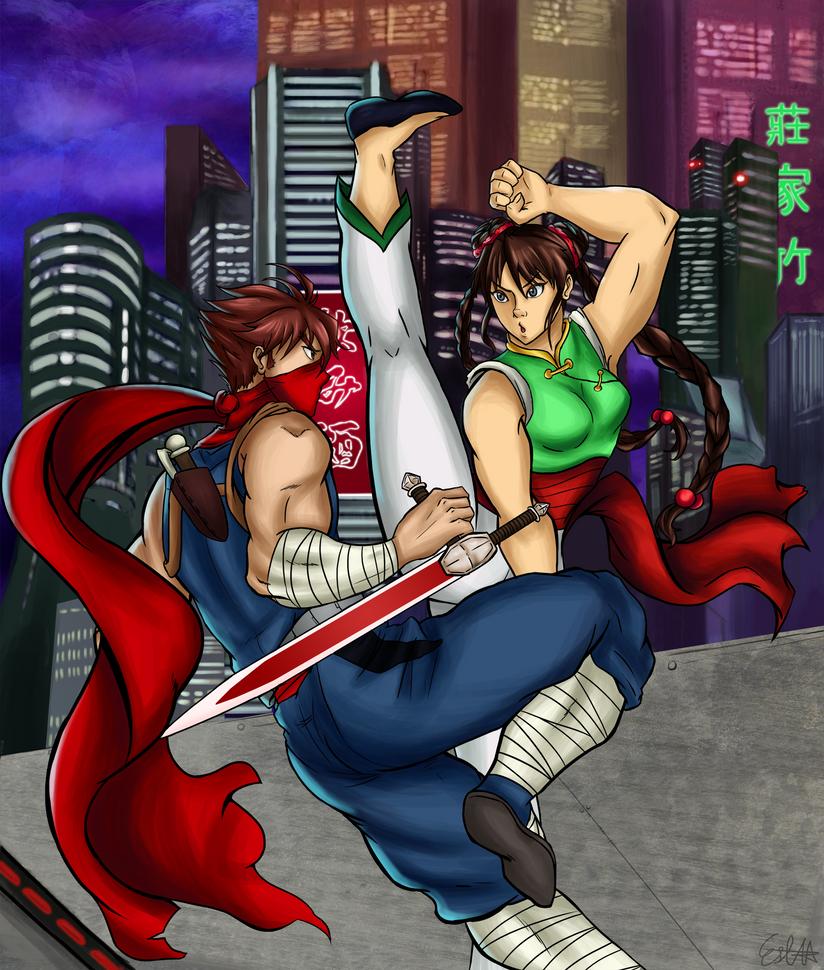 Battle - Strider Tong Pooh by MisoKrattz