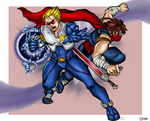 Captain Commando Strider Hiryu - MvC
