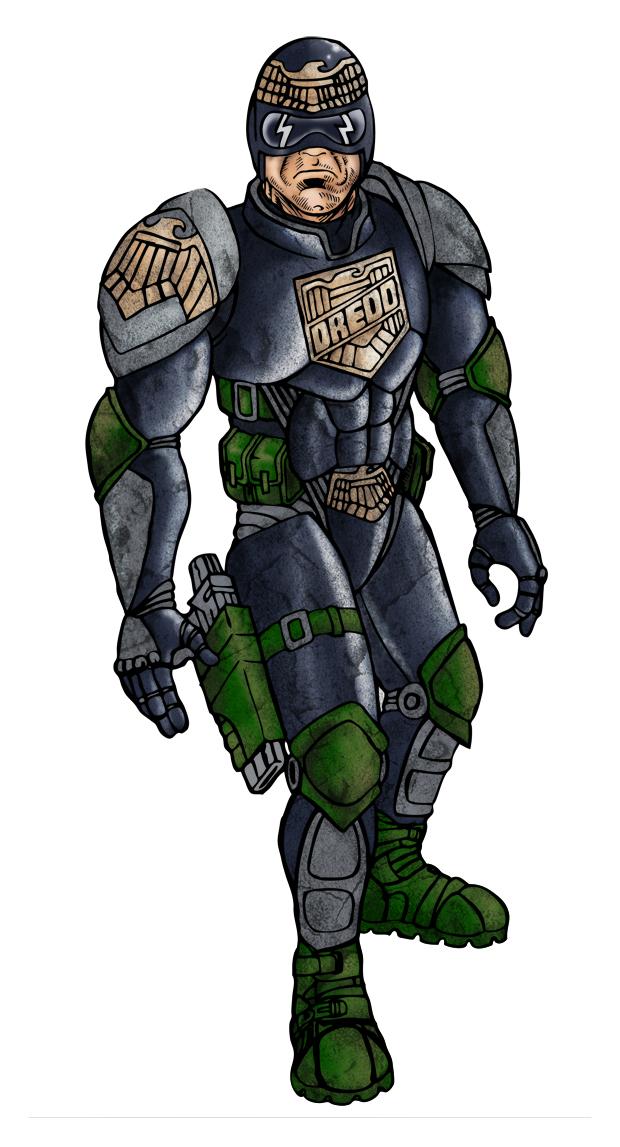 Judge Dredd remodel
