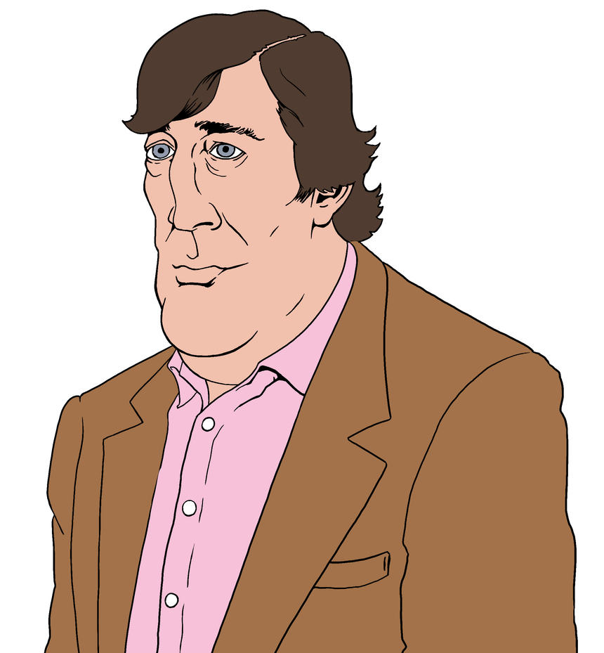 Stephen Fry by allistermac