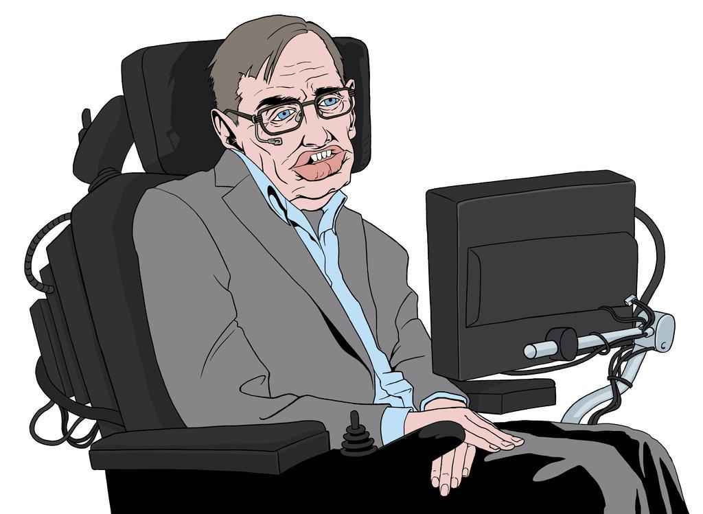 Stephen Hawking by allistermac