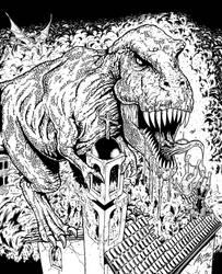 Satanus attacks in the Cursed Earth