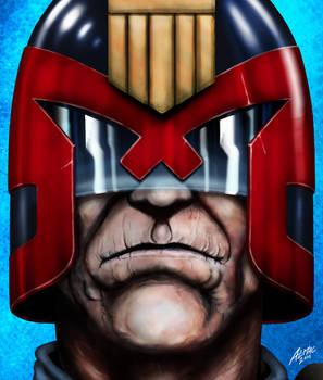 Judge Dredd in old age.