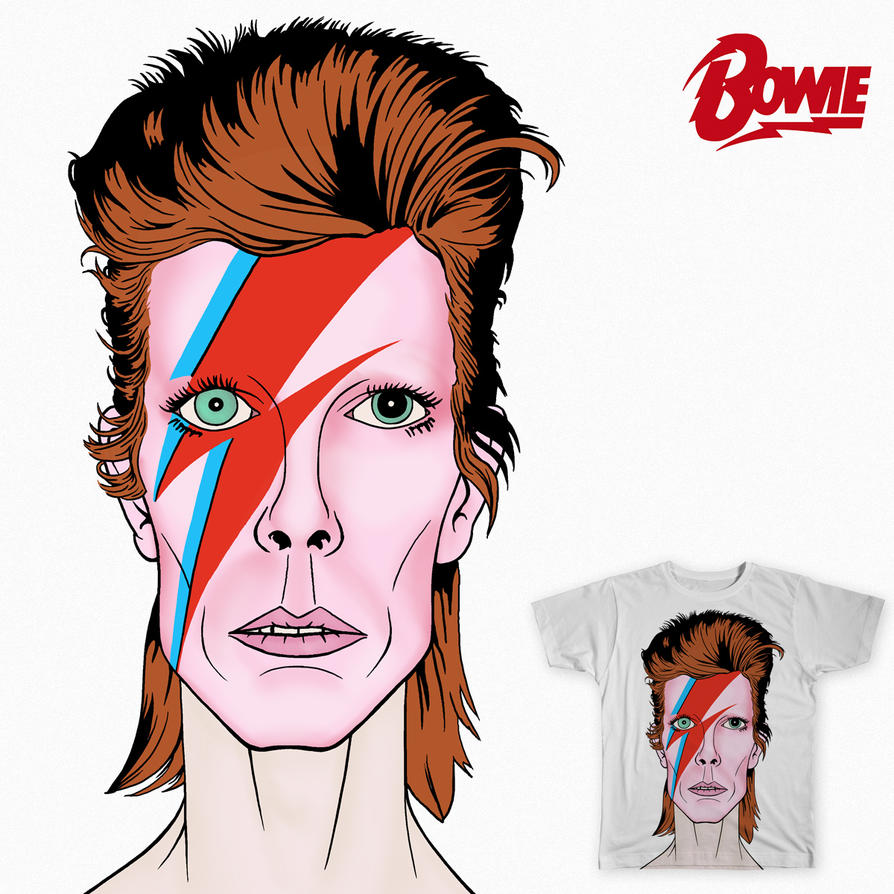 David Bowie tribute by allistermac