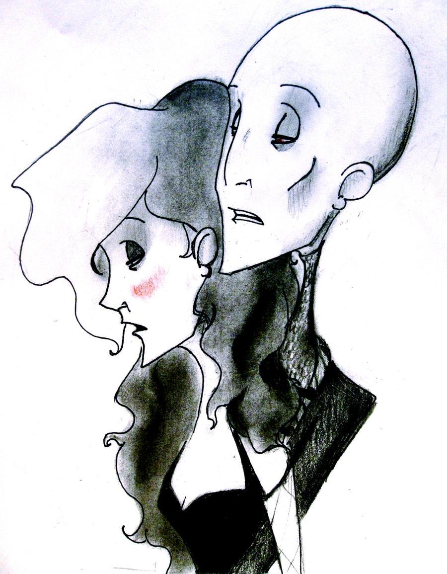 Voldemort and Bellatrix by NeverlandForever on DeviantArt
