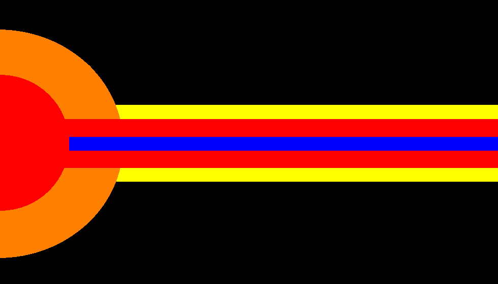 Flag of Cirris Aligned States by Shoguneagle