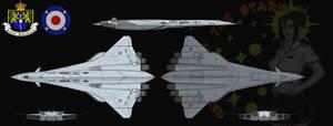 HMCS Geisha Of The Stars (Nightingale-class) by Shoguneagle