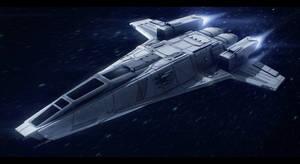 Hedgehog-class interstellar tactical gunship