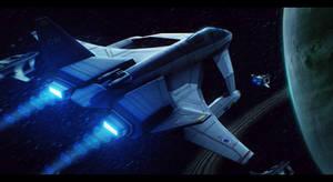Elysium Aerospace Inc. SF/A-13A Thunderstorm by Shoguneagle