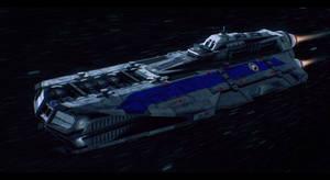 Enterprise-class medium starfighter carrier