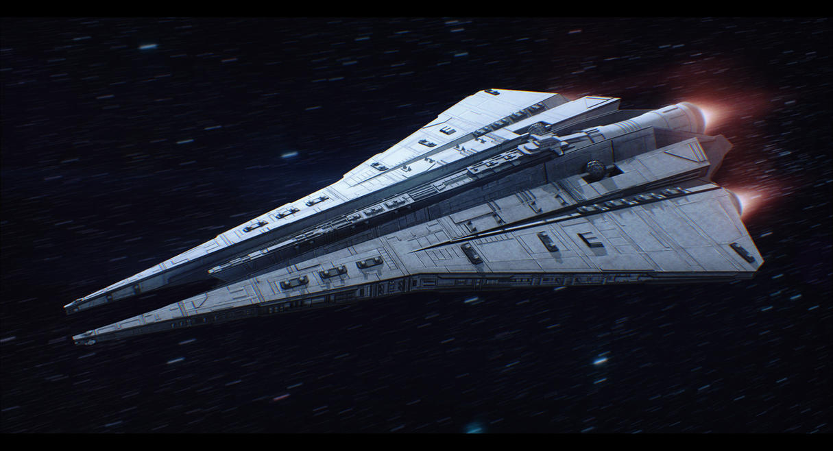 Kuat Drive Yards Thrawn-class Star Destroyer by ...