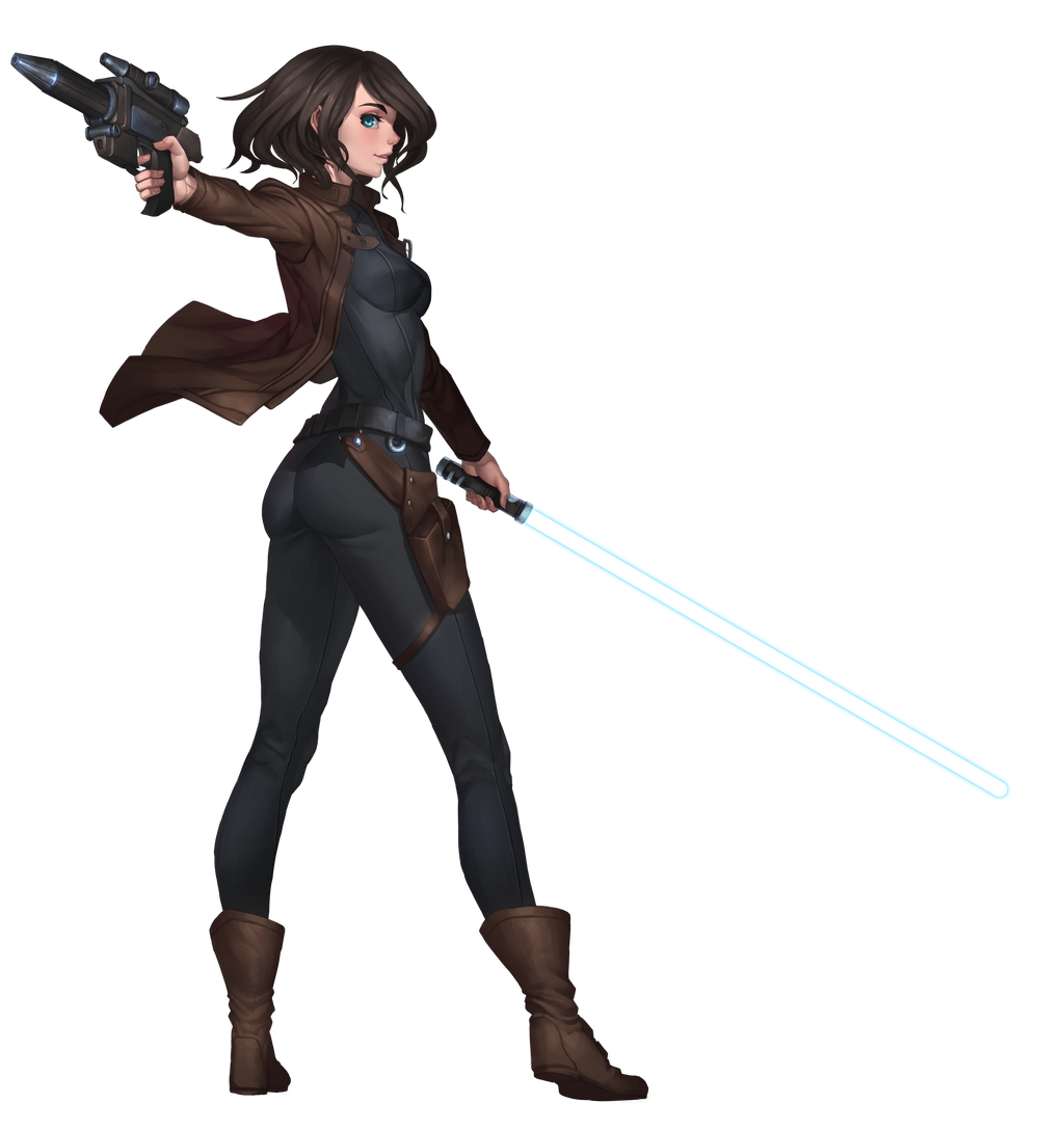 Rena Javess, Anti-Sith Chapter Jedi Knight by Shoguneagle